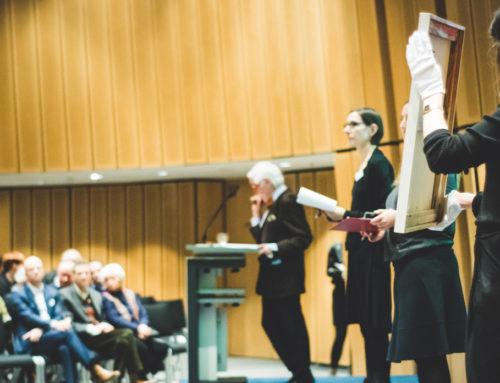 Pressemitteilung: Ergebnis der 19. Kunstauktion zugunsten der Überleben – Stiftung für Folteropfer